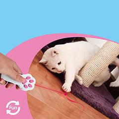 лазерная указка для кошек