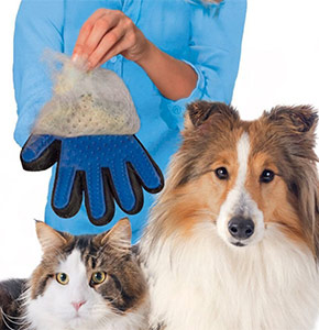 рукавица для шерсти