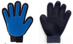рукавичка для вычесывания шерсти