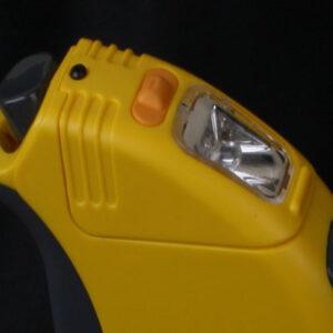 поводок рулетка фонарик