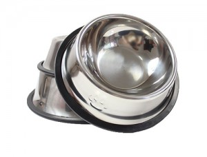металлическая миска