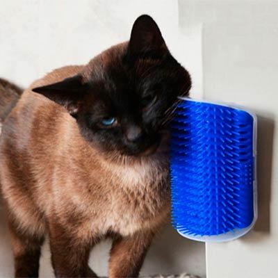 угловая чесалка для кошек