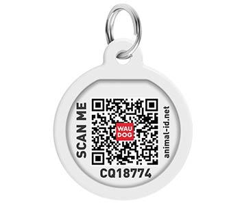 Адресник WAUDOG Smart ID с QR