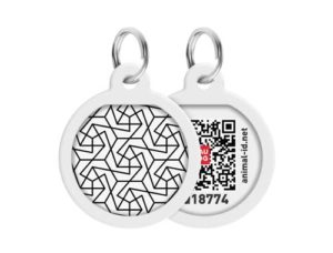 Адресник WAUDOG Smart ID с QR